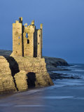 Old Keiss Castle, Caithness, Between John O'Groats and Wick, Scotland, United Kingdom, Europe