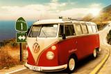 Californian Camper Poster