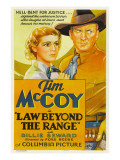 Law Beyond the Range, Billie Seward, Tim Mccoy, 1935