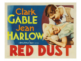 Red Dust, Jean Harlow, Clark Gable, 1932
