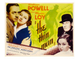 The Thin Man, William Powell, Myrna Loy, 1934