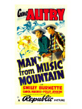 Man from Music Mountain, Gene Autry, Smiley Burnette, 1938