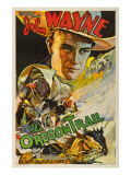 The Oregon Trail, (Poster Art), John Wayne, 1936