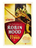 The Adventures of Robin Hood, Errol Flynn, Olivia De Havilland, 1938
