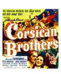 The Corsican Brothers, Akim Tamiroff, Douglas Fairbanks Jr., 1941