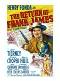 The Return of Frank James, Henry Fonda, 1940