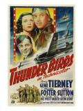 Thunder Birds, Clockwise from Left: Gene Tierney, Preston Foster, John Sutton, 1942