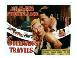 Sullivan's Travels, Veronica Lake, Joel Mccrea, 1941