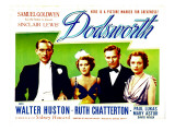 Dodsworth, Paul Lukas, Ruth Chatterton, Walter Huston, Mary Astor, 1936
