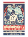 Bookbinders Seafood House Advertisement