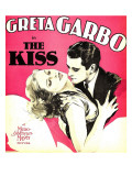 The Kiss, Greta Garbo, Lew Ayres on Window Card, 1929