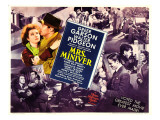 Mrs. Miniver, Greer Garson, Walter Pidgeon, 1942