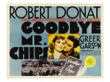 Goodbye, Mr. Chips, Greer Garson, Robert Donat, 1939