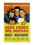 Here Comes Mr. Jordan, Rita Johnson, Robert Montgomery, Evelyn Keyes, 1941