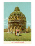 Buy Baptistry, Pisa, Italy at AllPosters.com