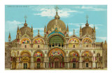 Buy St. Mark's Basilica, Venice, Italy at AllPosters.com