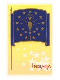 Flag of Indiana