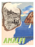 Buy Amalfi, Travel Poster at AllPosters.com
