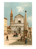 Buy Santa Maria Novella Church, Florence, Italy at AllPosters.com