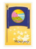 Flag of Montana