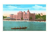 Royal Hawaiian, Honolulu, Hawaii