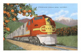 Streamlining through California, Oranges