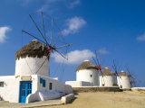 Traditional Windmill, Mykonos, Greece