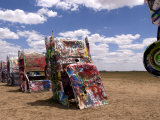 Cadillac Ranch with Buried Cars, Amarillo, Texas, USA