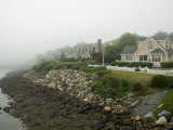 Houses in Perkins Cove, Ogunquit, Maine, USA