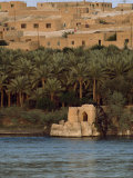 Mid-East Dwellings Viewed from across a River