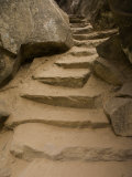 Stone Steps on Trail, Zion National Park, Utah, Monument Valley, USA