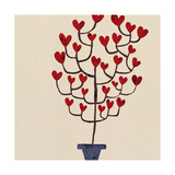 Heart Tree in Pot
