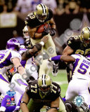 Pierre Thomas 2009 With NFC Championship