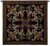 Paisley Dark Wall Tapestry