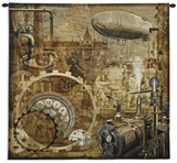 Steampunk Wall Tapestry