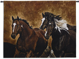 Ready to Run Wall Tapestry