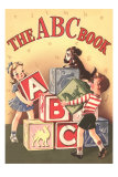 The ABC Cook Book, Children with Big Blocks