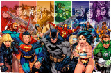 DC Comics - Justice League of America Generations Poster