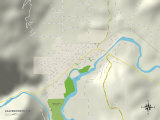 Buy Political Map of Leavenworth, WA at AllPosters.com