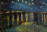 Buy Starry Night Over the Rhone, c.1888 at AllPosters.com