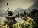 Buy Lombardy, Lakes Region, Lake Como, Varenna, Villa Monastero, Gardens and Lakefront, Italy at AllPosters.com