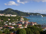 Us Virgin Islands, St, Thomas, Charlotte Amalie and Havensight Cruise Ship Dock, Caribbean