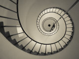 La Paloma, Atlantic Ocean Resort Town, Cabo Santa Maria Lighthouse, Interior Stairs, Uruguay