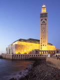 Hassan Ii Mosque in Casablanca, the Third Largest in World after Those at Mecca and Medina, Morocco