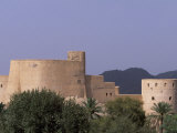 First Rustaq Fort Was Built by the Persians in the Pre-Islamic Period, Oman