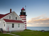 Maine, Lubec, West Quoddy Lighthouse, USA