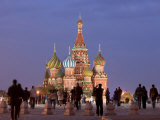 St, Basil's Cathedral, Red Square, Moscow, Russia