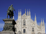Buy Duomo, Milan, Lombardy, Italy, Europe at AllPosters.com