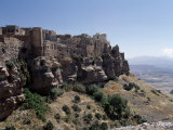 Edge of Tabal Kawkaban Is Ancient Stone Town of Kawkaban, Served as a Mountain Fortress, Yemen