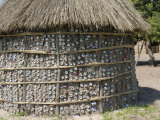 Recycling of Aluminium Cans as Used in Traditional House, Botswana, Africa